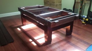 Pool and billiard table set ups and installations in West Bend Wisconsin